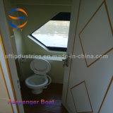 22m el tráfico de transbordadores de pasajeros de barco a barco de fibra de vidrio cuerpo