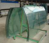 4mm-19mm hanno curvato il vetro Tempered per il vetro degli occhiali di protezione/costruzione