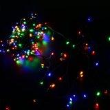 Riflettore solare variopinto di Parrty di cerimonia nuziale dell'indicatore luminoso della stringa di natale della decorazione piccolo LED del giardino con 100 tubi