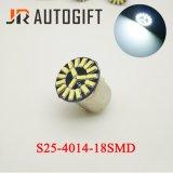 Des Auto-LED Licht Signal-der Lampen-S25 4014 der Bremsen-18SMD