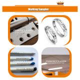 Máquina portátil 10W -50W do fabricante do laser para o metal e o plástico