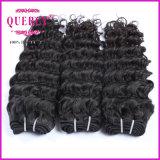 волос волны волос 8A Quercy волосы европейца Remy девственницы глубоких Weft