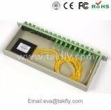 De Optische Splitser van de Vezel PC/APC van Sm G657A Gpon 1X4 1X8 1X16 1X32 1X64 FC/Sc