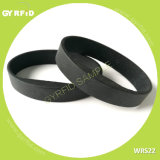 ロゴのWrs22ブレスレットRFIDは印刷した、習慣RFIDバンド(GYRFID)