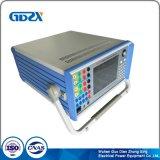 Six Écran LCD couleur de la phase Test par injection de courant secondaire Régler le relais de l'équipement de test