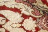 Tessuto di lusso all'ingrosso della tenda del sofà della tappezzeria del Chenille del jacquard di disegno del fiore