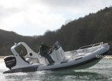販売のためのLiya中国の最もよく堅い外皮の膨脹可能なボート