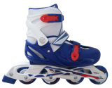 プラスチックセメントシャーシのローラースケートの大人は子供に蹄鉄を打つ