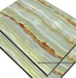 La decoración de pared de material de revestimiento muro cortina de paneles compuestos de aluminio