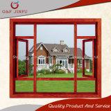Marco de cristal Windows del estilo del perfil de aluminio de madera clásico del grano