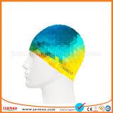 昇進の習慣OEMデザインシリコーンの水泳帽