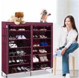 Equipamento para Engraxar os Sapatos de armário de racks de grande capacidade de armazenamento de dados móveis domésticos DIY Rack Sapata portátil simples (A)-05FS