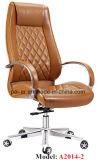 Современное из твердых пород дерева алюминия административной канцелярии кожаные кресла (PE-B2014-1)