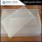 PMMA luz de la placa de acrílico placa de guía para la iluminación LED