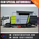 도시 청소를 위한 8m3 진공 도로 거리 청소원 트럭