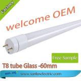 Sunlux T8 LED Gefäß 0.6m 9W, 12W LED helles Gefäß-Glas mit Cer