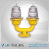 Niedrige Intensitäts-Doppelt-Leuchtfeuer-Licht-Hindernis-helle Flugzeug-Warnleuchte