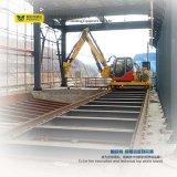 Carrello ferroviario d'acciaio termoresistente di trasferimento della siviera
