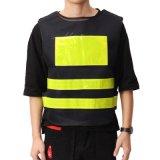 Veste reflexiva uniforme elevada profissional da listra da segurança de estrada da visibilidade