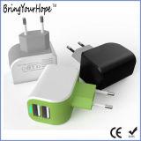 자신은 디자인한다 2.4A (XH-UC-052)에 있는 모형 이중 USB 벽 충전기를