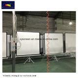 Großhandelsweiße Stativ-Projektions-Mattbildschirme mit gutem Preis und guter Qualität
