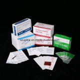 Pista antiséptica vendedora caliente de la preparación del alcohol del Isopropyl de los 3*6cm el 70% con el certificado del Ce