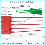 35 см регулируемый туго затяните пластмассовый толщиной безопасности теги КД-137