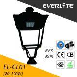 Everlite 30W Jardim de LED de luz com CB marcação GS
