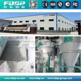 usine de cylindre réchauffeur des poissons 2t/H avec le moulin de boulette