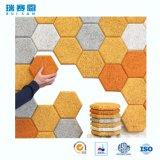 Modèle de panneautage de mur de bureau de mousse acoustique de réduction du bruit de panneau d'absorption de fibre de polyester