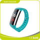 Частота сердечных сокращений для измерения артериального давления крови кислородом Pedometer Sport Wristwatch Smart браслет
