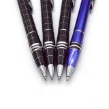 Le Mont stylo à bille de métal blanc avec de gros cristal (LT-E99)