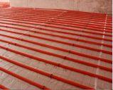 Fabricante China de plástico de abrazadera del tubo de suministro de calefacción de clavos o grapas.