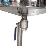 Tanque de emulsão do creme de corpo do aço inoxidável com homogenizador