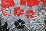 팔레스티나 분홍색 셔닐 실 실내 장식품 직물 (fth31895)