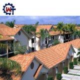 Mailand-Typ Home- Depotüberzogene Stahldach-Steinschindeln in Philippinen