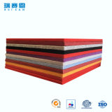Panneau acoustique décoratif intérieur de fibre de polyester de Retartant de flamme pour la salle de réunion