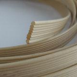 Tubo da Linha de plástico extrudido plástico Imitação de tecidos de verga