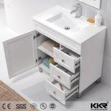 建築材料の浴室の家具の固体表面の樹脂の石の洗面器