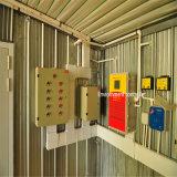 Structure en acier ferme avicole de conception avec un ensemble complet de l'équipement