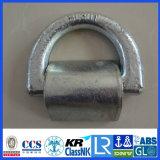 Forjado Lashing D Ring com grampo CCS / ABS / Lr Cert
