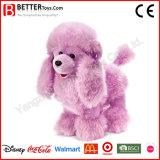 Filhote de cachorro macio do afago do luxuoso do cão do animal enchido de ASTM para crianças/miúdos