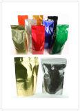 ガス抜き処理弁が付いているプラスチックコーヒーバッグ