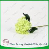 """Vástago de la Seda artificial de 18"""" de flor de seda al por mayor de Flor de hortensia"""