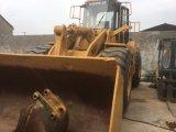 Chargeur utilisé de tracteur à chenilles du chargeur 966f de roue de chat pour la construction