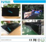 Flexible P4mm publicité pleine couleur, écran large LED, afficheurs à LED du panneau