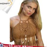 붕대 여자 수영복을%s 섹시한 비키니 세트를 인쇄하는 공장 섹시한 백색 Macrame