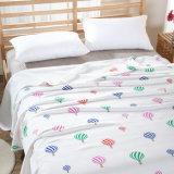 Édredon 100%Cotton tricoté de textile pour le blanc d'été