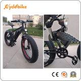 "Ce жир электрического велосипеда 26"" снег на пляже Ebike"