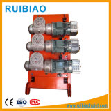 La masse de métal Druving moteur moteur de la construction du système